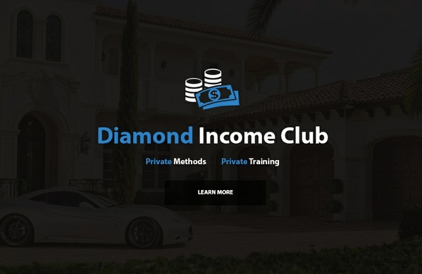 The Diamond Income Club - Private & Exclusive Tutorials