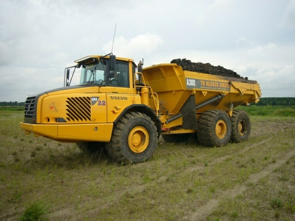 VOLVO A30D ARTICULATED DUMP TRUCK SERVICE REPAIR MANUAL - DOWNLOAD