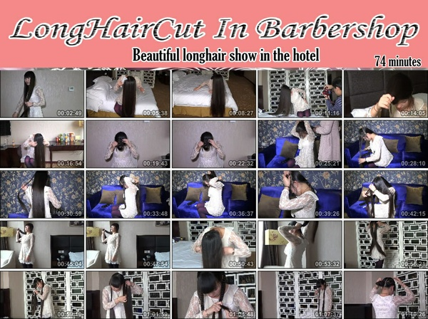 Beautiful longhair show in the hotel