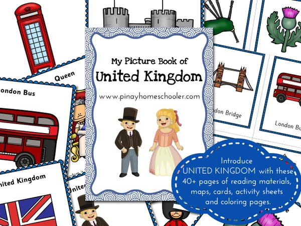 United Kingdom:  Picture Book and Cards