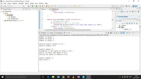 Project: Class ( UML inclusive)
