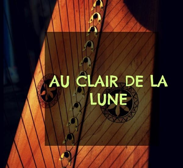 125-AU CLAIR DE LA LUNE FOR LEVER HARP -34S PACK