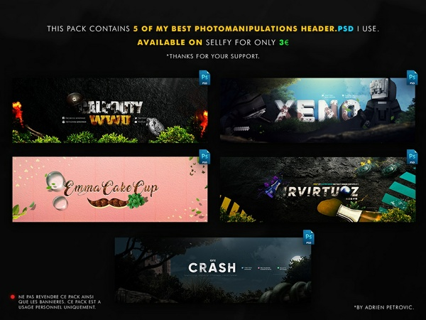 5 of My Best Photomanipulated Header.PSD