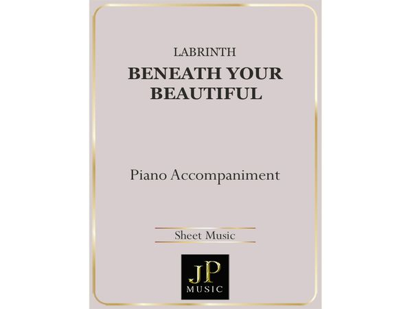 Beneath Your Beautiful - Piano Accompaniment
