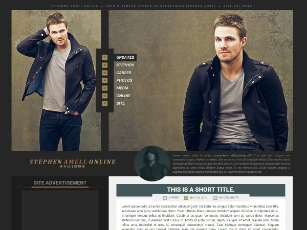 Premade 08: Arrow (Wordpress/Coppermine)