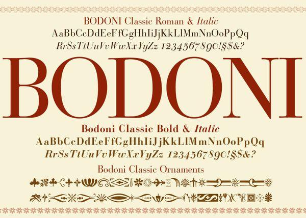 Bodoni Classic