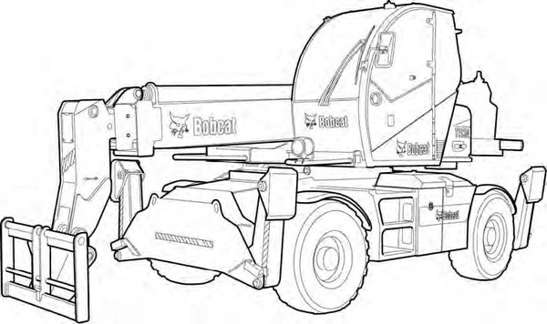 Bobcat TR38160 Telescopic Handler Service Repair Manual Download(S/N LLM1590267 & Above)