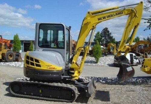 New Holland E40.2SR E50.2SR Mini Crawler Excavators Service Repair Workshop Manual Download