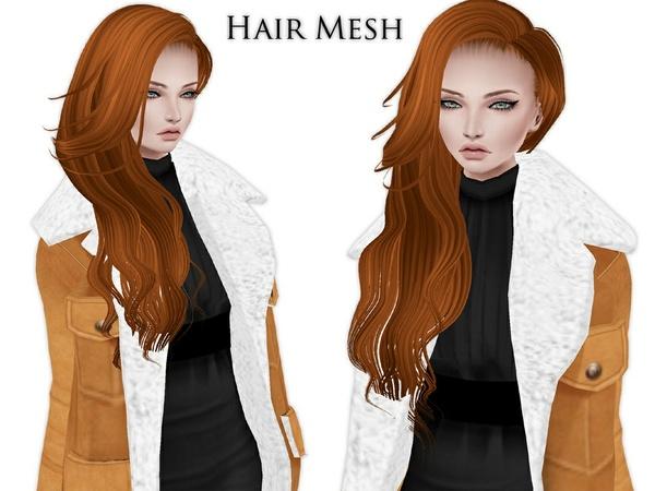 IMVU Mesh - Hair - Ilka