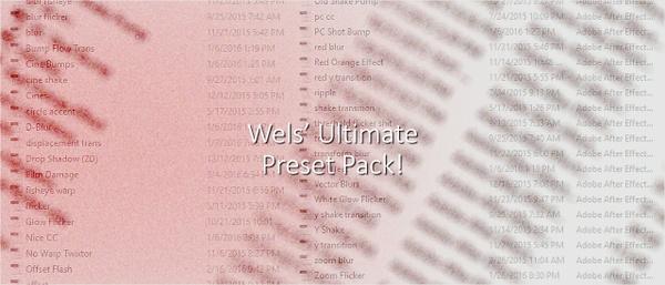 Wels Ultimate Preset Pack!