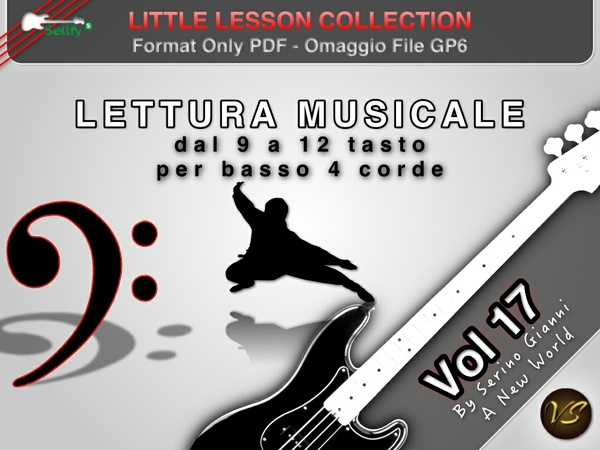 LITTLE LESSON VOL 17 - Format Pdf (in omaggio file Gp6)