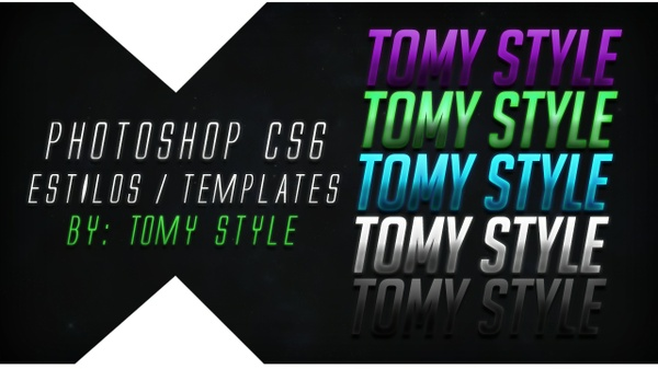 Text Templates / Letras Editables | PSD - Photoshop CS6