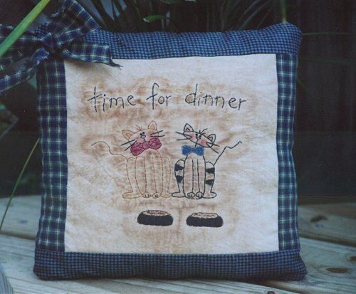 #334 Time For Dinner E Pattern