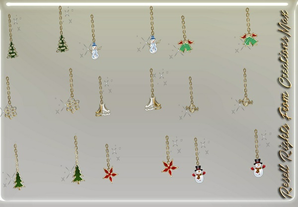 22 Pairs Of Exclusive Christmas Earrings (Resell Rights) 0/10 People