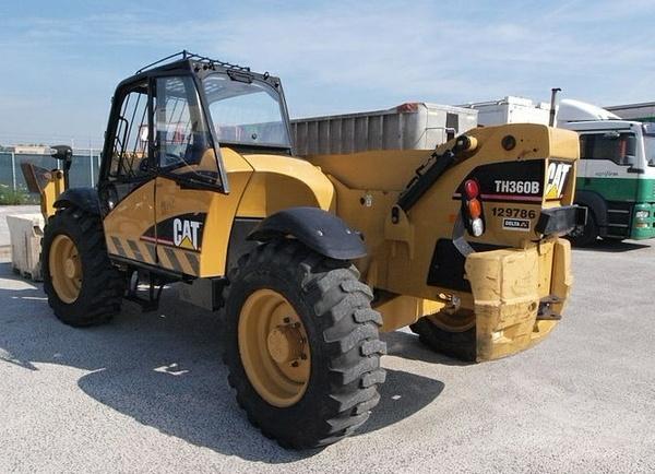 Caterpillar Cat TH360B TH560B Telehandler Service Repair Workshop Manual DOWNLOAD