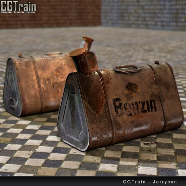 Jerrycan Container (WWII)