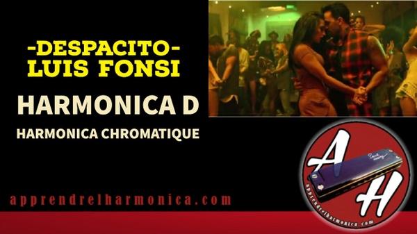 Despacito - Luis Fonsi - Tablature harmonica