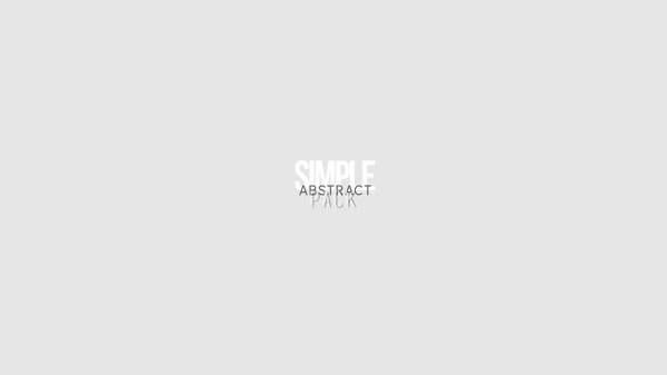 Simple Abstract Pack