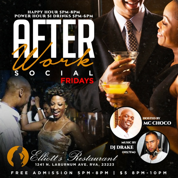 After Work Social Party Flyer