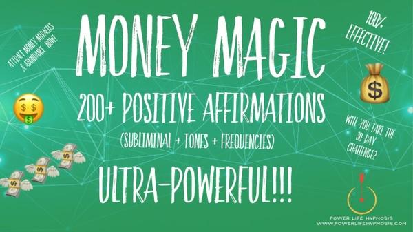 Money MAGIC (Bundle of 2) - ATTRACT WEALTH & ABUNDANCE to you like MAGIC! (Silent Subliminals)