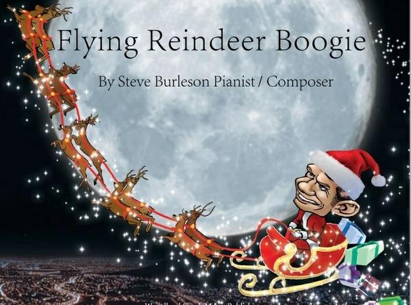 The Flyin Reindeer Boogie Sheet Music / Solo Piano
