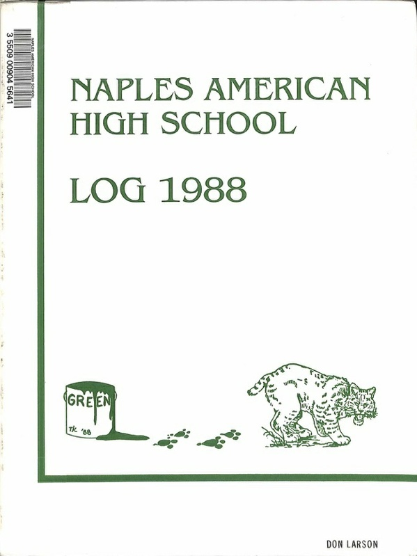 Naples American High School Log 1988