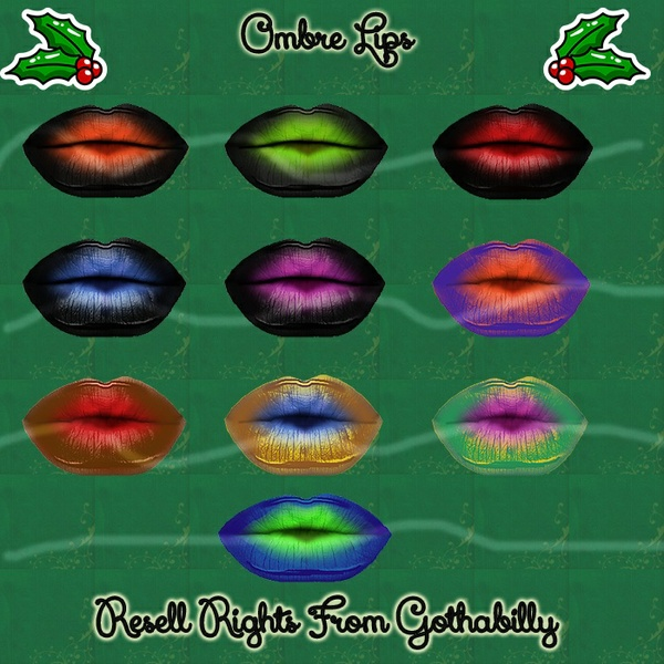 Ombre Lips Catty Only!!!