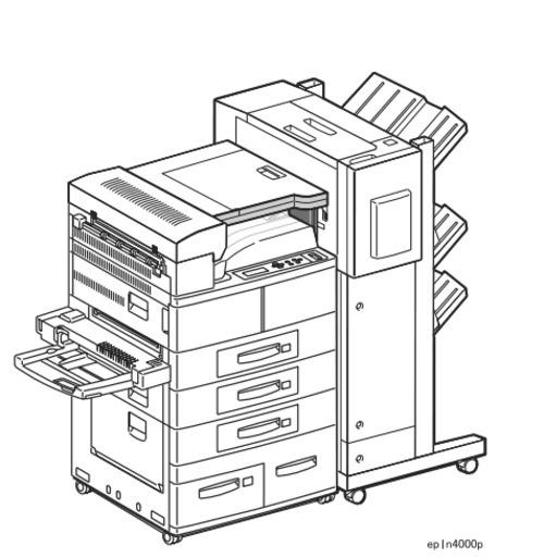 Epson EPL-N4000 / EPL-N4000+ Laser Printer Service Repair Manual