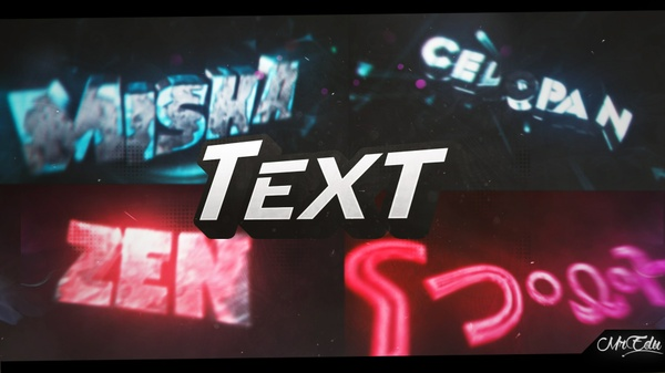 Intro Text 3D (Open) 0/4