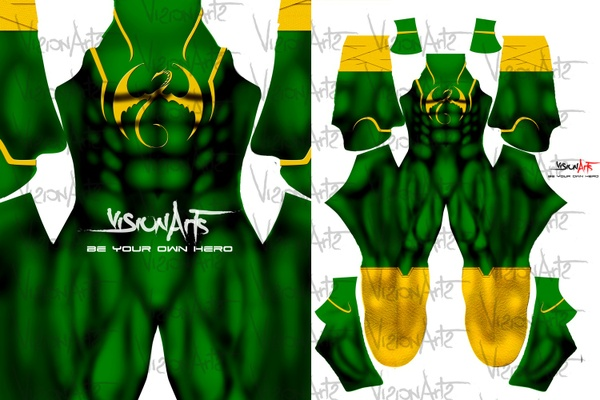 Iron Fist Green V2