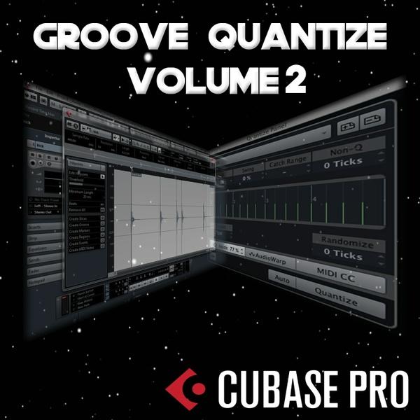 CubaseTools Groove Quantise Vol 2