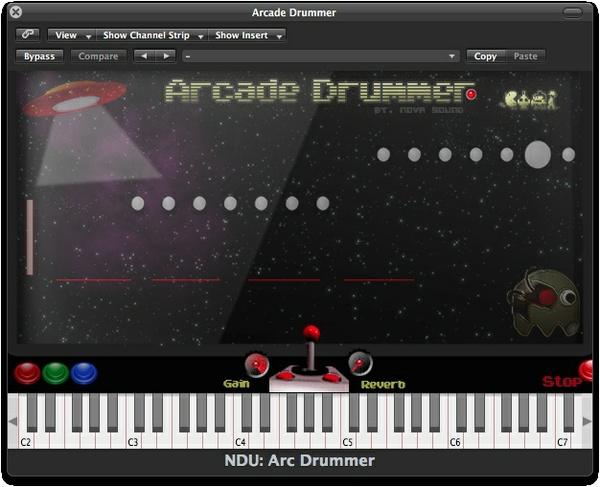 Nova Drum Unit: Arcade Drummer - VST, AU
