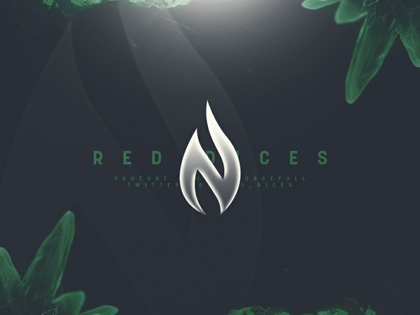 """The Emerald"" Red Dices Header PSD"