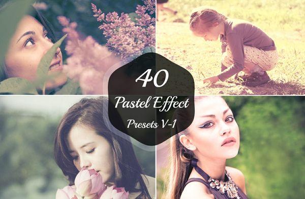 40 Pastel Effect Lightroom Presets