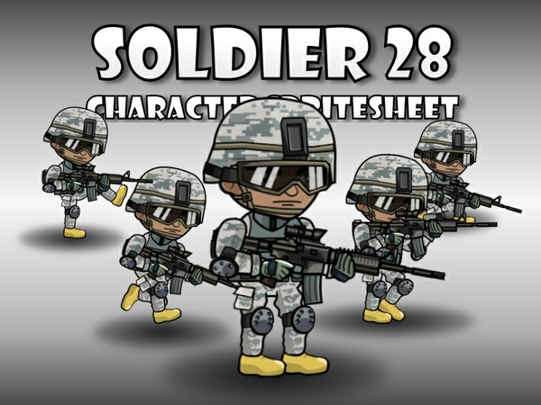 Soldier Character 28
