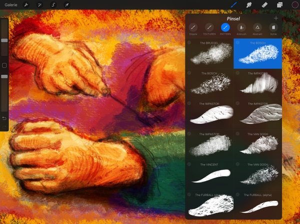 "40+ Texture & Pattern Brushes: ""PATTERNOIK Procreate Power Pack"""