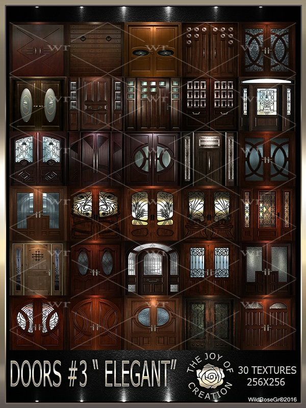 "~DOORS #3 "" ELEGANT "" TEXTURE PACK ~"