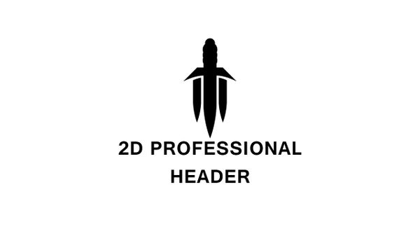 2D Professional Header