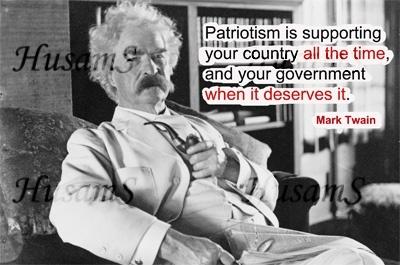 Mark Twain's Picture Quote ( #008 )