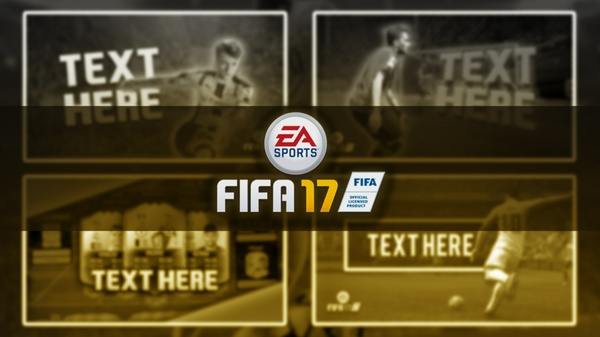 FIFA 17 YouTube Thumbnail Template Pack