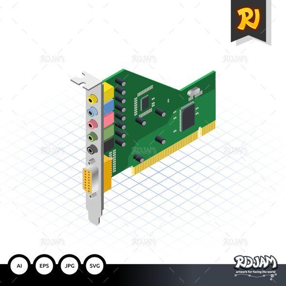 Isometric Sound Card