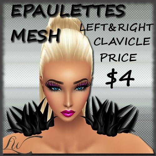 PVC Epaulettes MESH