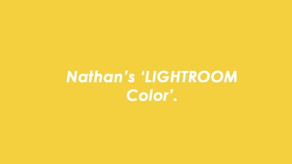 [NEW UPDATE] Nathan's Lightroom V3