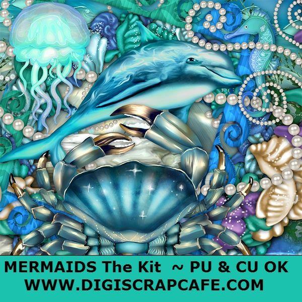 Mermaids Under the Sea Full Kit