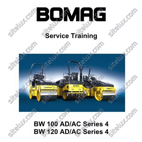Bomag BW 100 AD/AC Series 4 & BW 120 AD/AC Series 4 Service Training