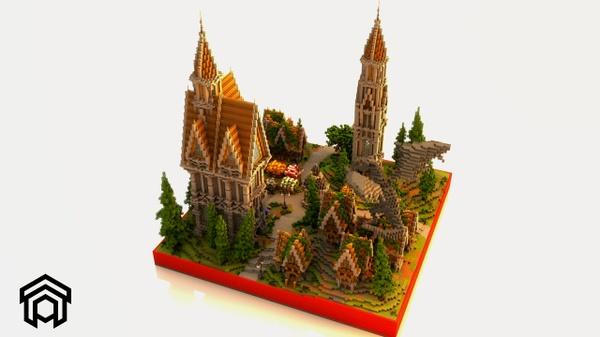 Minecraft ▬ Faction/Survival Spawn