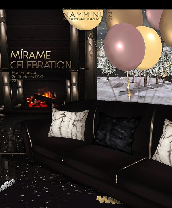 Mírame Celebration imvu Home decor 26 Textures PNG