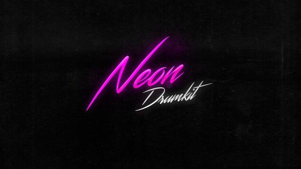 Neon Drumkit