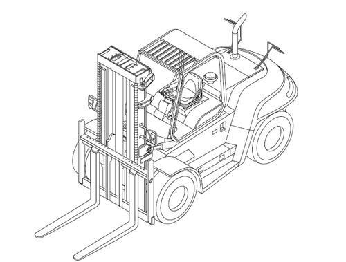 Mitsubishi FD100N - FD160AN Forklift Trucks Service Repair Manual Download