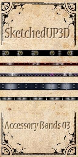 Accessories 03 - Belt Texture Bundle